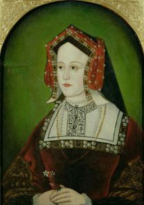 2 Katherine of Aragon with  Moost Happi billiment