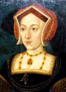 5aAnn Boleyn Nidd Hall portrait with pearl and jewel necklace